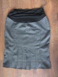 Шикарная юбка в офис для беременяшки