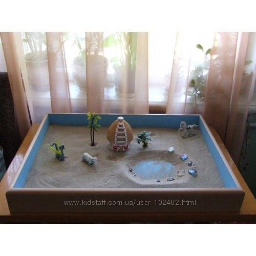 Домашняя песочница своими руками