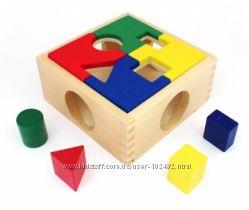 Развивающие деревянные игрушки МДИ