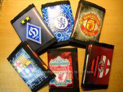 Подарок болельщикам - кошельки с эмблемой футбольного клуба