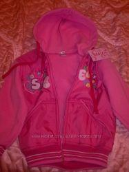 Кофта детская розовая