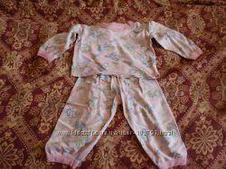 Продам пижама байковая р 86-92
