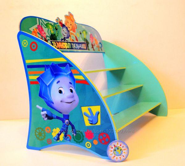 Полка для пластилина в детском саду