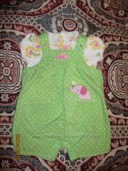 Костюмчик для малышки 0-3 месяца