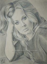Портрет карандашом с фотографии