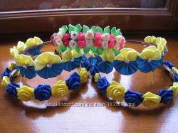 Украинский веночек - обруч