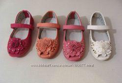 Детские туфельки в садик и не только. 3 цвета в наличии.