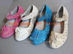 Нарядные ажурные туфельки для принцесс