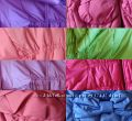 Варианты цвета курток по порядку. Сиреневый, персик, лиловый, коралл, малиновый, салатовый, ярко-малиновый, голубой.