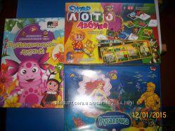 Настольные мини-игры от 2 лет, настольные игры, супер лото Азбука.