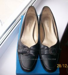 Кожаные туфли размер 39