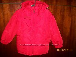 Деми курточка для девочки р. 86 92