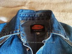 джинсовая рубаха Gee Jay