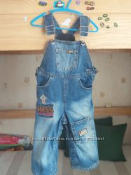 джинсовый полукомбез Gee Jay