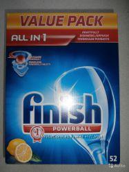 Таблетки для посудомоечной машины Finish, 52 шт