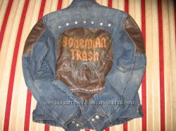 джинсовый пиджак-курточка BY MEXX размер 40