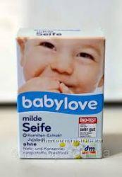 Детское мыло Babylove с экстрактом ромашки и маслом жожоба для чувствительн
