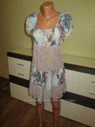 Воздушное летнее платье. Фирменная Турция, р. S-M