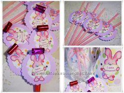 Праздничный набор Розовый зайчик