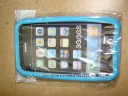 Силиконовый чехол для Iphone 3g и 3gs