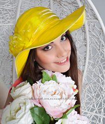 Летняя женская шляпа-элегантна, грациозна, привлекательна