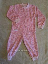 Велюровая пижама для девочки