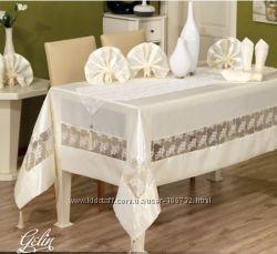 Скатерти на любой вкус, для празничных столов и красивых будне Турция
