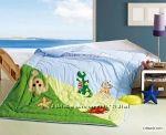 Одеяла с вышивкой, наборы  для кроваток с одеялом - для наших деток Турция