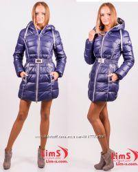 Шикарные женские пуховики, куртки от ТД LimS.