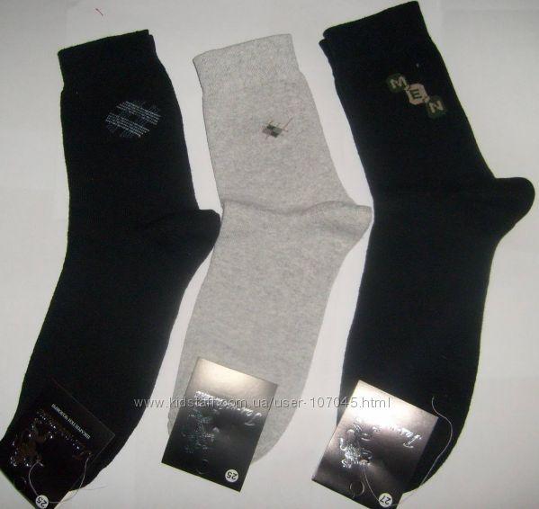 Детские и мужские носочки для школы и на работу