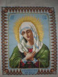 Вышивка Икона Умиление Пресвятой Богородице