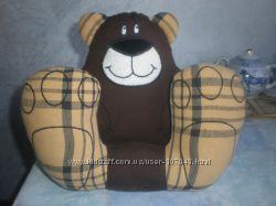Детская подушка-подголовник 3 в 1 - игрушка, подушка, для автомобиля