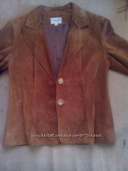 Стильный замшевый пиджак