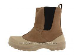 Новые зимние ботинки Crocs c 6pm размер 9. 41-42
