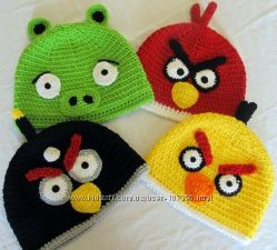 Angry Birds шапочки с любимыми героями