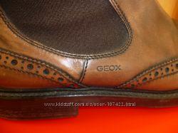 Качественные и стильные ботинки-броги Geox