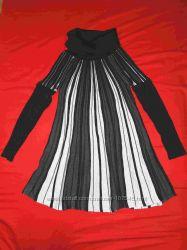 Новое теплое платье можно для животика р. 42-44