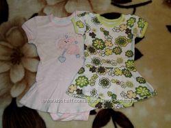Платье - боди для маленькой леди р. 74-80