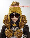 Ультра модные женские шапки