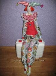 Текстильный клоун