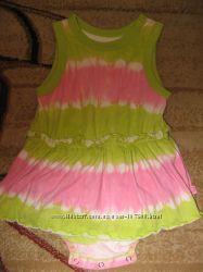 Фирменные платья, юбки и туника на 9-12 мес