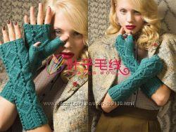 Варежки и  митенки -супер модные и теплые