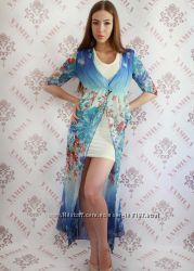 Длинное платье 2в1 - р-р 42-46