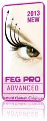 Мощнейшая сыворотка Feg Pro Advanced для роста ресниц