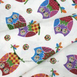 Ткань для детской Совы Испания