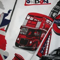 Лондон ткань для штор школьнику, подростку
