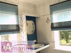 Римские шторы и фурнитура к ним. Рулонные шторы