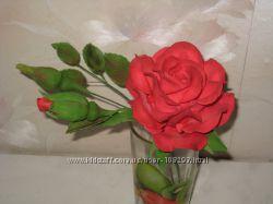 Цветы из мастики под заказ