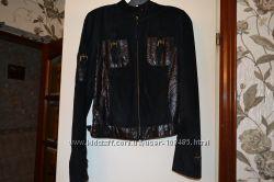 Курточка из натуральной замши- б у пару раз