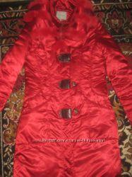 Зимнее пальто для беременных на синтепоне
